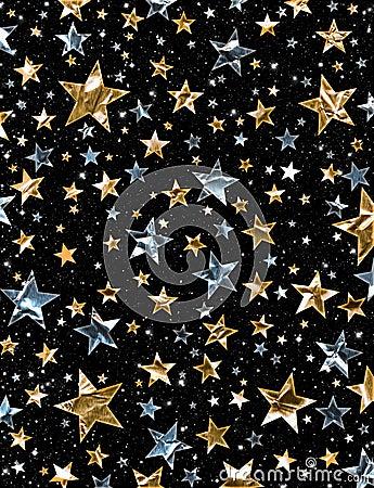 Shiny Star Field
