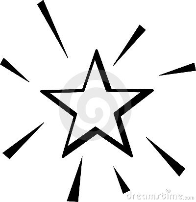 Christmas Star Outline Download