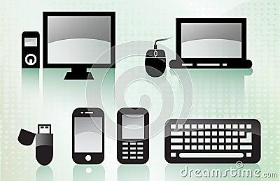 Shiny Tech Icons