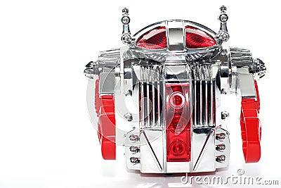 Shiny toy robot #2