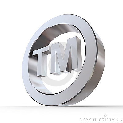 Shiny Trademark Symbol