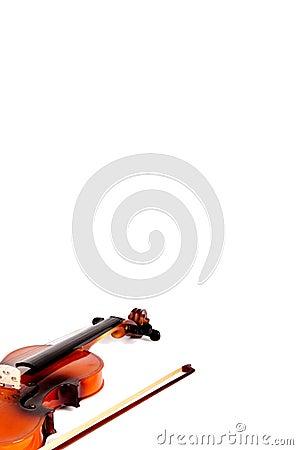 Shiny Violin & Bow