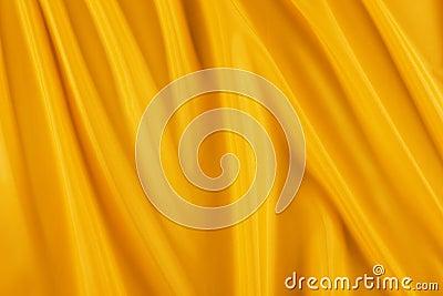 Shiny yellow fabric
