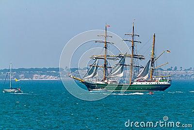 Ship Alexander Von Humboldt II Editorial Image