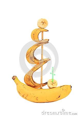 Ship from a banana.