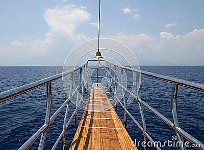 Ship bow
