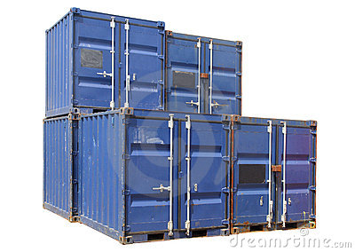 Ship cargo containers.