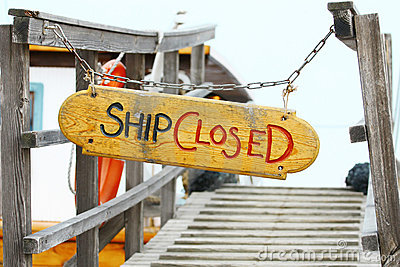 Ship closed