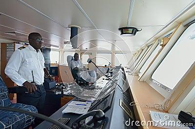 Ship commander Editorial Photo
