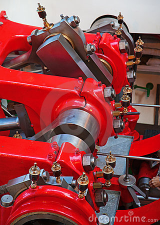 Ship engine Stock Photo