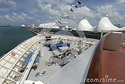 Ship för bowkryssningport