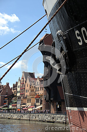 Ship in Gdansk
