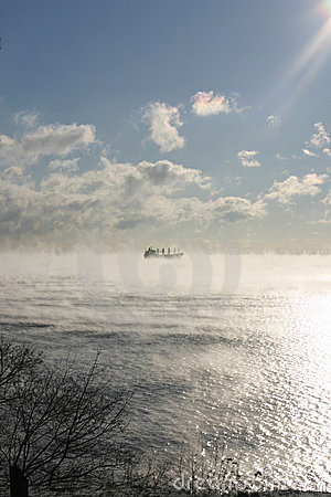 Free Ship In The Clouds Royalty Free Stock Image - 382166