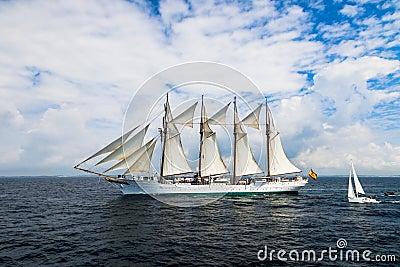 Ship Juan Sebastian de Elcano Editorial Stock Image