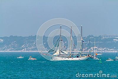 Ship Kapitan Borchardt Editorial Stock Photo
