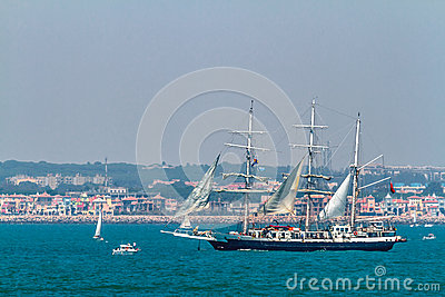 Ship Lord Nelson Editorial Stock Photo