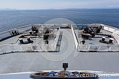 Ship in Mediterranean