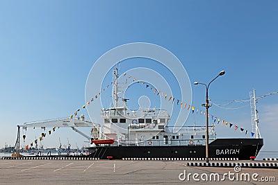 Ship project 19910 Vaigach Editorial Photography