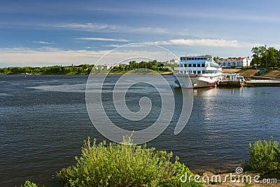 Ship on quay