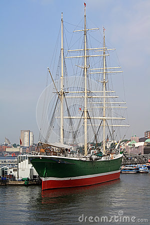 Free Ship Rickmer Rickmers Stock Images - 25188884