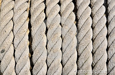 Ship ropes sack