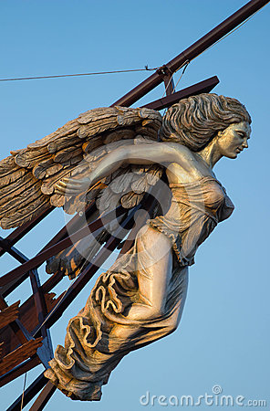Free Ship S Figurehead Royalty Free Stock Photos - 51546408