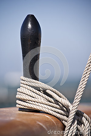 Free Ship S Rigging Detail Royalty Free Stock Images - 27094869