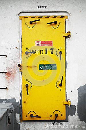 Ship s Watertight Door
