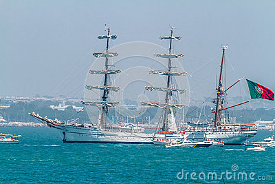 Ship Sagres Editorial Stock Image