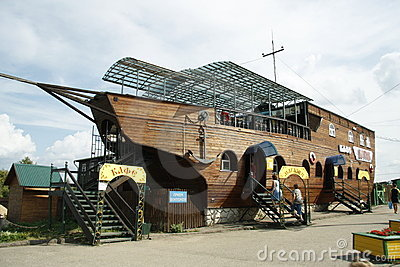 Ship-shape Restaurant Editorial Stock Photo