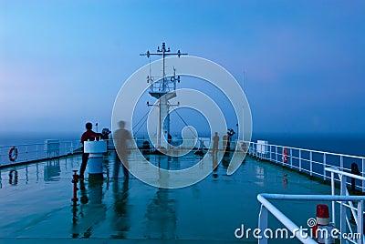Ship signal tower