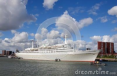 Ship SS Rotterdam Editorial Image