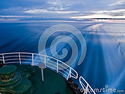 Ship trail
