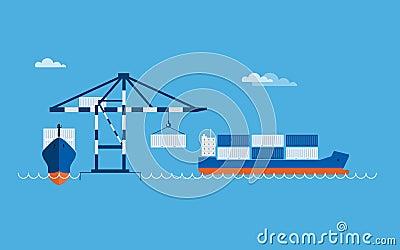 Ship Transportation Concept