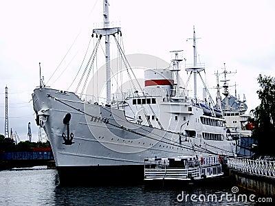 Ship Vityaz in Kaliningrad