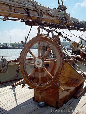 Ship Wheel Stock Images - Image: 2543574