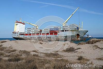 Ship wreck Editorial Photography