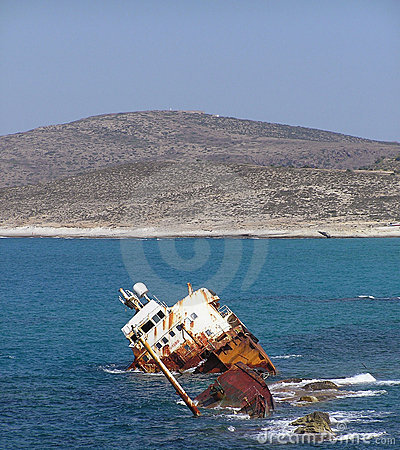 Free Ship Wreck Stock Photo - 477870