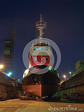 Free Shipbuilding, Ship Repair Royalty Free Stock Photography - 23391807
