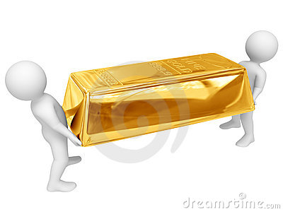 Shipment of gold