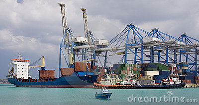 Shipping - Container Port in Malta