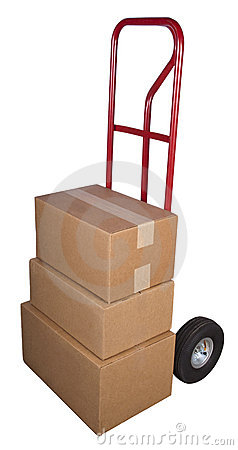 Shipping Delivery Dolly Ship Boxes Packages Moving