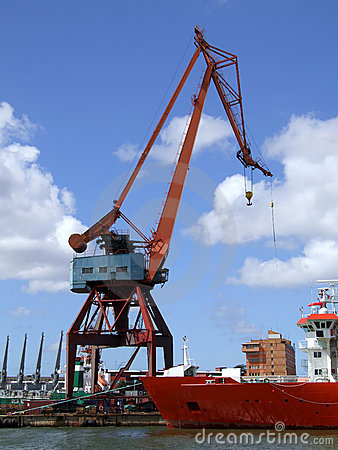 Free Shipping Industry Crane 04 Royalty Free Stock Photos - 6718538