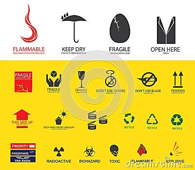 Shipping symbols