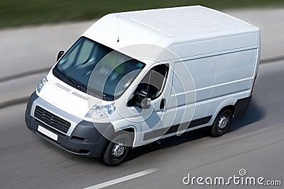Shipping van