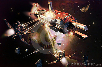 Ships attack close to Orion