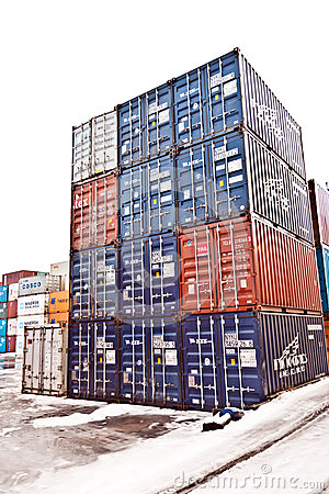 Ships and container