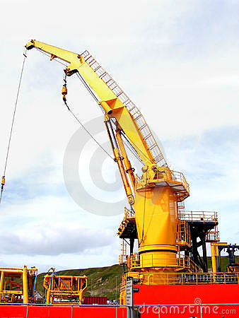 Free Ships Crane. Royalty Free Stock Images - 966999