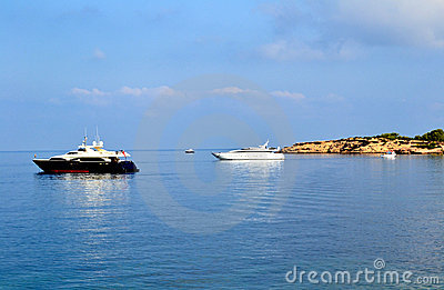 Ships in Ibiza