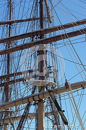 Free Ships Masts Royalty Free Stock Image - 297166